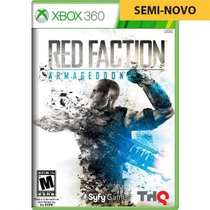 Jogo Red Faction Armageddon - Xbox 360 (Seminovo)