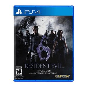 Jogo Resident Evil 6 - PS4 (Seminovo)