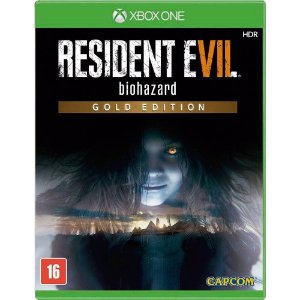 Jogo Resident Evil 7 Gold Edition - Xbox One
