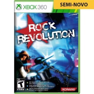 Jogo Rock Revolutions - Xbox 360 (Seminovo)