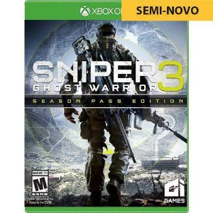 Jogo Sniper Ghost Warrior 3 Edição Limitada - Xbox One (Seminovo)