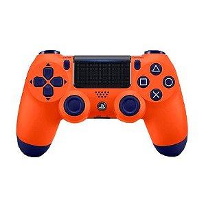 Controle DualShock 4 Sunset Orange - PS4