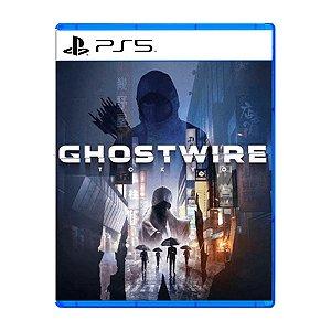 Jogo Ghostwire Tokyo - PS5