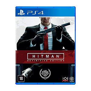 Jogo Hitman Definitive Edition - PS4 (Seminovo)