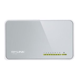 Switch 8 Portas TP-Link 10/100 Mbps TL-SF1008D (Seminovo)