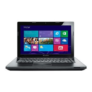 "Notebook Lenovo G405 AMD E1-2100 RAM 4GB SSD 120GB LED 14"" (Seminovo)"
