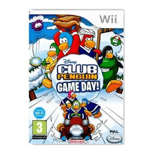 Jogo Disney Club Penguin Game Day - Wii (Seminovo)