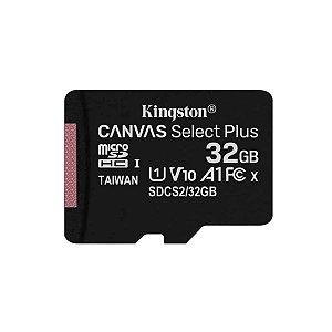 Cartão de Memória Kingston 32GB Ultra MicroSDHC + Adaptador