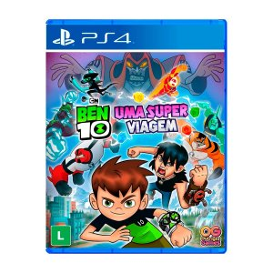 Jogo Ben 10 Uma Super Viagem - PS4