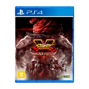 Jogo Street Fighter V Arcade Edition - PS4 (Seminovo)