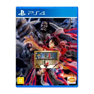 Jogo One Piece Pirate Warriors 4 - PS4