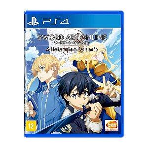 Jogo Sword Art Online Alicization Lycoris - PS4