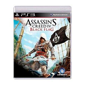 Jogo Assassins Creed IV Black Flag - PS3 (Seminovo)