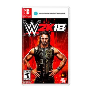 Jogo WWE 2K18 - Switch (Seminovo)