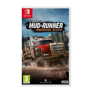 Jogo Spintires MudRunner American Wilds - Switch (Seminovo)
