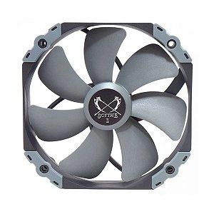 Cooler para Gabinete Kaze Flex Scythe 140x25mm 1800 RPM com PWM