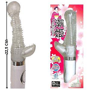 Vibrador Ponto G Com Estimulador de Clitoris Sio Hime êxtase