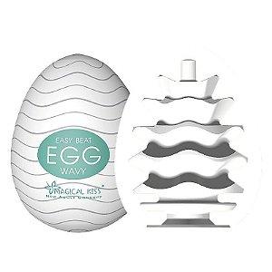 Masturbador Ovinho do Prazer- Magical Kiss - Egg Wavy