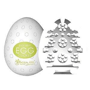 Masturbador - Egg Clicker Magical Kiss - Ovinho do Prazer