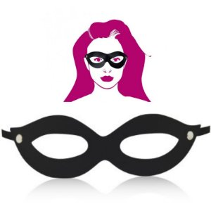 Máscara Tiazinha Sensual - Sex shop