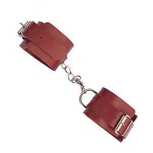 Algema Bracelete em BEDIN Vermelha Laminado DOMINATRIXXX - Sex shop