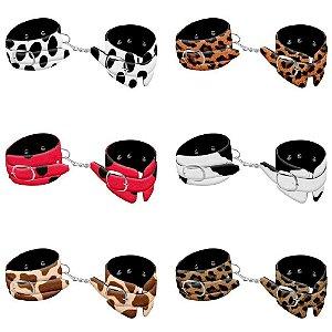 Algema Bracelete Luxo Bichos - Onça - DOMINATRIXXX - Sex shop