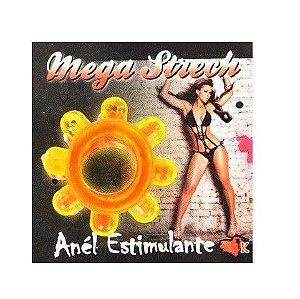 Anel Peniano Mega Strech Amarelo - Sexyshop