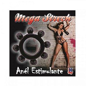 Anel Peniano Mega Strech Preto - Sexyshop