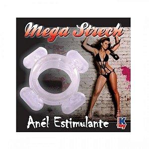 Anel Peniano Mega Strech transparente - Sexyshop