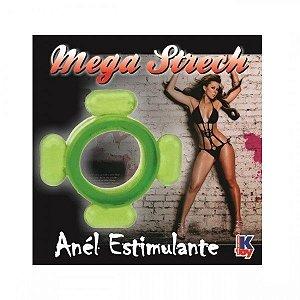 Anel Peniano Mega Strech Verde - Sexyshop