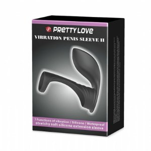 Anel Peniano Vibration Penis Sleeve II - Pretty Love - Sexshop