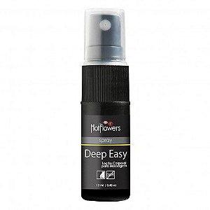 Anestésico Anal Deep Easy Loção em Spray 12ml Hot Flowers - Sexshop