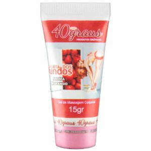 Anestésico Anal Porta dos Fundos Aroma Morango 15gr - Sex shop
