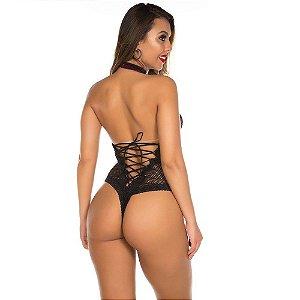 Body Sensual Luxuria Preto Pimenta Sexy