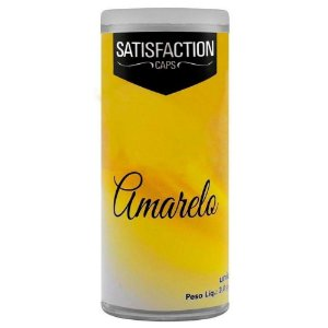 Bolinha Vaginal Excitante Satisfaction Amarelo 2 Capsulas Perfumadas