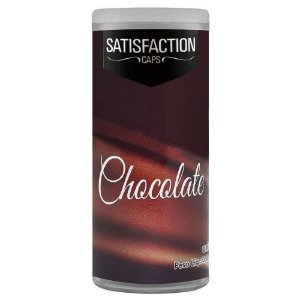 Bolinha Vaginal Excitante Satisfaction Chocolate 2 Capsulas Perfumadas