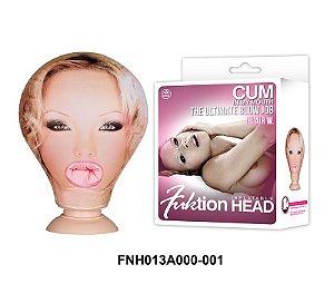 Cabeça de boneca inflável e penetrável - Fuktion Head Inflatable - Sex shop