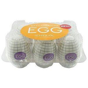Caixa com 6 Masturbadores Tenga Egg - Spider - Sexshop