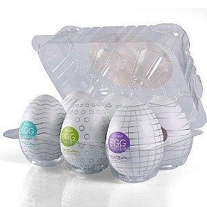 Caixa com 6 TENGA Eggs ORIGINAIS sortidos - Sexshop