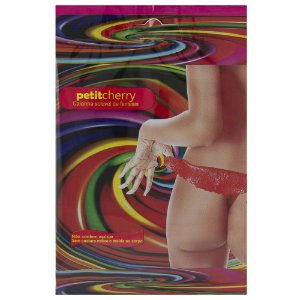 Calcinha Neon Uva Soluvel Flow Pack Petit Cherry - Sexshop