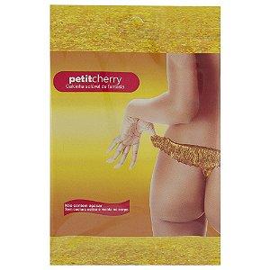 Calcinha Ouro Metalic Soluvel Flow Pack PetitCherry - Sex shop