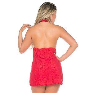 Camisola Sensual Atrevida Pimenta Sexy Vermelha - Sexshop
