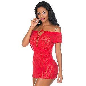 Camisola Sensual Ciganinha Pimenta Sexy Vermelho - Camisola Sexy