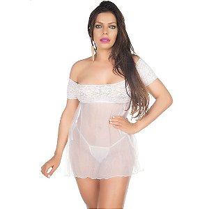 Camisola Sensual Gabriela Pimenta Sexy Branca - Camisola Sexy
