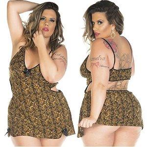Camisola Sensual Plus Size Lú Pimenta Sexy - Sexshop