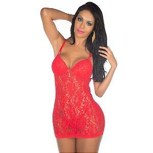 Camisola Sexy Ana Bela Vermelha Pimenta Sexy - Camisola Sexy