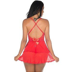 Camisola Sexy Secret Vermelha Pimenta Sexy - Camisola Sensual