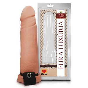 Capa Peniana Realística 16,8x4,6cm SexyFantasy - Sex shop