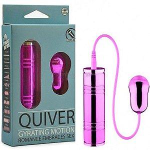Cápsula giratória rosa 10 velocidades - QUIVER GIRATING - NANMA - Sexshop