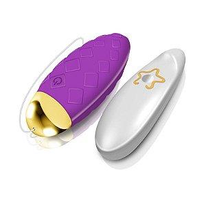 Cápsula Vibratória Texturizada Wireless com 10 Modos de Vibração - MAN NUO DINI VIBRATING EGG - Sex shop
